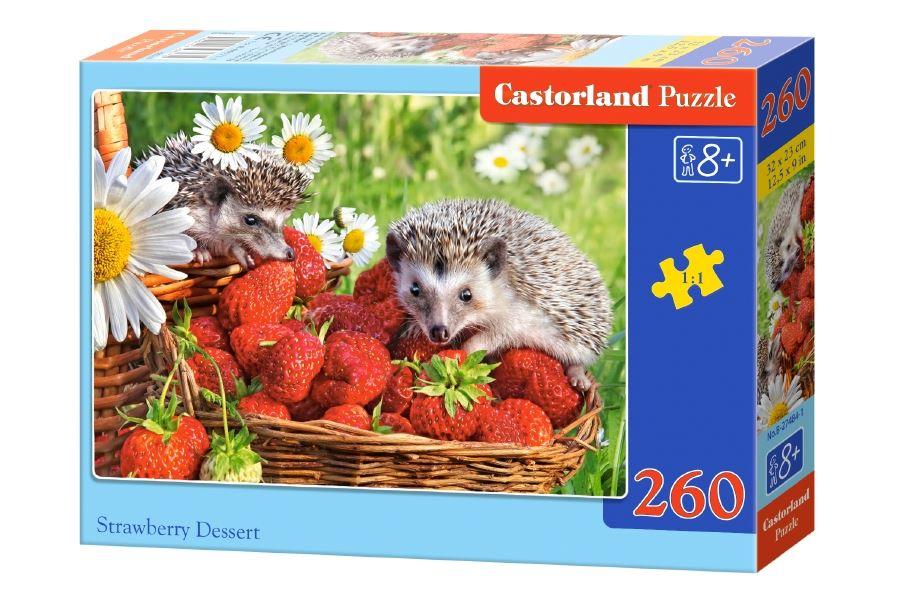 Castorland Strawberry Desert 260pce